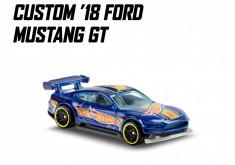 custom '18 ford mustang gt hot wheels 4/5 hw race team 2020 foto