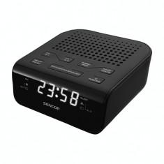 Radio cu ceas Sencor SRC 136 B Black