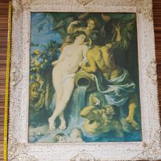 Tablou reproducere pânză imprimata P. P. Rubens - The Union of Earth and Water, Portrete