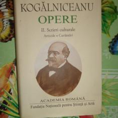 Mihail Kogalniceanu - Opere vol.2 / academia romana