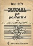 Cumpara ieftin Jurnal Pe Portative I - Iosif Sava