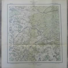 Sovata, Szovata// harta Serviciul Geografic Armatei 1916