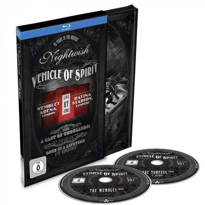 Nightwish Vehicle Of Spirit ltd. Ed. Digibook (2bluray)