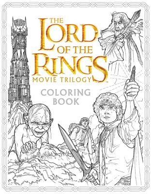 The Lord of the Rings Movie Trilogy Coloring Book foto
