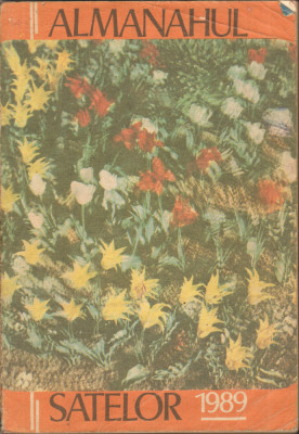 Almanahul satelor 1989 foto