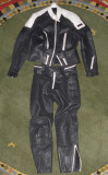 Costum moto piele,geaca,pantaloni bike,moto,motociclism marimea 54