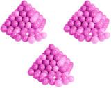 Cumpara ieftin Set 300 bile colorate Soft Pink, Roz, Plastic, Knorrtoys