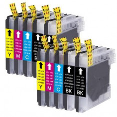 Set 10 Cartuse Brother LC1100 compatibile