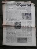 Ziarul Sportul din 29 ianuarie 1982