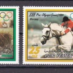 Yemen  1983  sport  MI  300/312-314   MNH  w59