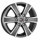 Jante TOYOTA HI-ACE 2WD (N1) 6.5J x 15 Inch 6X139,7 et30 - Mak Van 6 Ice Titan - pret / buc, 6,5