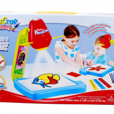 Tabla de desenat cu proiector pentru copii + set de accesorii pentru desen 8383