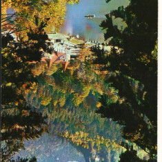 "CPI B 11232 CARTE POSTALA - BAILE TUSNAD, LACUL ""CIUCAS"", Necirculata, Fotografie"