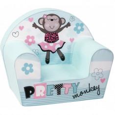 Fotoliu din burete Pretty Monkey