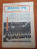 Revista tele-radio 19-25 decembrie 1976