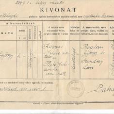 Extras stare civila catolic Tileagd Bihor 1940