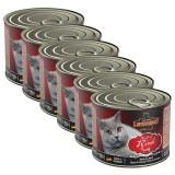 Cumpara ieftin Conservă Leonardo pentru pisici, vită 6 x 200 g