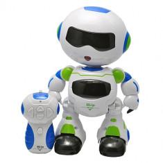Robot de jucarie pentru copii, cu telecomanda, danseaza, are sunete si lumini, 993331