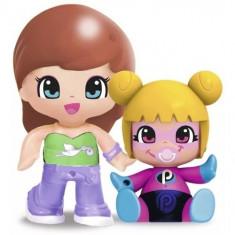 Figurina PinyPon Satena cu Bebe Surpriza