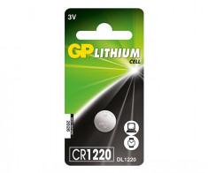 Baterie GP Lithium 3V CR1220-7C5 (? 12.5 x 2mm) foto
