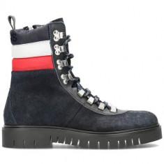 Ghete Femei Tommy Hilfiger Padded Nylon Lace UP Boot EN0EN00613403