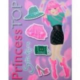 Princess TOP Stickers. Violet