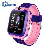 Cumpara ieftin Ceas Smartwatch Pentru Copii Twinkler TKY-Q13 cu Functie Telefon, Localizare GPS, Istoric traseu, Apel de Monitorizare, Camera, Joc Matematic, Roz