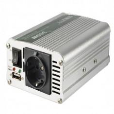Invertor tensiune 12V-220V, 300W, USB, 5 functii, intrerupator, Sal