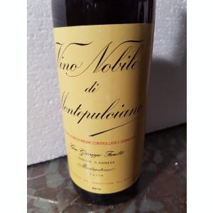 45 - Vin VINO NOBILE DI MONTEPULCIANO, RISERVA,DOC, cl 75 gr 13,5 recoltare 1985