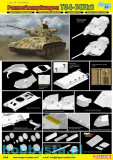 + Kit figurine 1/35 Dragon 6449 - T-34-747(r) STZ Mod.1942 +