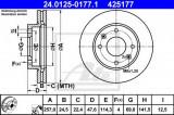 Disc frana KIA MAGENTIS (GD) (2001 - 2005) ATE 24.0125-0177.1