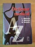 DICTIONAR MEDICAL de L. MANUILA , A. MANUILA , M. NICOULIN , 1997