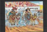Desene animate Disney,Siera Leone., Animatii, Nestampilat