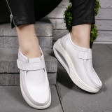 Pantofi dama casual albi Visva
