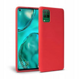 Cumpara ieftin Husa Silicon Huawei P40 Lite TechProtect Icon Red