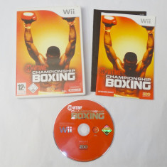Joc Nintendo Wii - Championship Boxing