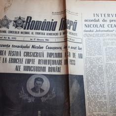 romania libera 17 februarie 1983-cuvantarea lui ceausescu