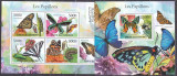 DB1 Fauna Flora Fluturi Comore III MS + SS MNH