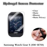 Folie protectie Hydrogel, TPU Silicon, Samsung Galaxy Watch Gear S (SM-R750), Bulk