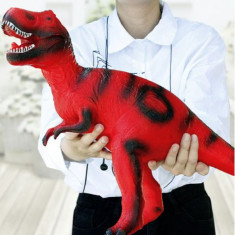 Figurina Dinozaur Gigant, din cauciuc, cu sunete de dinozaur, 60 cm