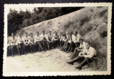P.117 FOTOGRAFIE RAZBOI WWII OFITER MILITARI GERMANI WEHRMACHT 10/6,8cm