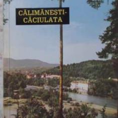 CALIMANESTI-CACIULATA - ALEXANDRU GIRNEATA
