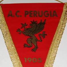 Fanion fotbal - AC PERUGIA (Italia)-un autograf