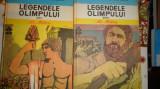 Legendele Olimpului 2 volume (eroii si zeii) cartonate/ilustratii - Al.Mitru