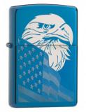 Cumpara ieftin Brichetă Zippo 29882 Eagle & USA Flag Design