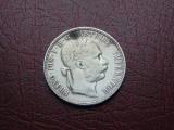 Moneda argint 1 florin 1885 (cr185)
