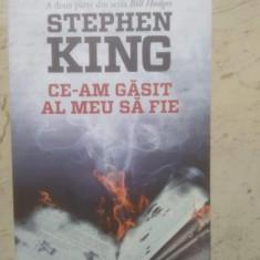 Ce am găsit al meu sa fie. Stephen King