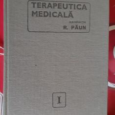 TERAPEUTICA MEDICALA VOL 1,2,3 - RADU PAUN , STARE FOARTE BUNA .