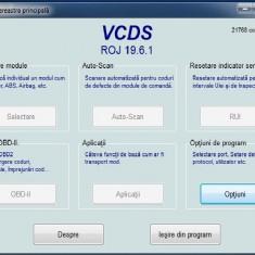 interfata diagnoza/scaner/tester vcds VAG COM 19.6.1 ro romana+codari si manuale