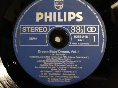 Dream Baby Dream vol 1 & 2 - Selectiii - 2 LP Set (1979/Philips/RFG) - VINIL/ foto
